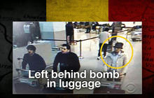 Manhunt for third Brussels attacker expands