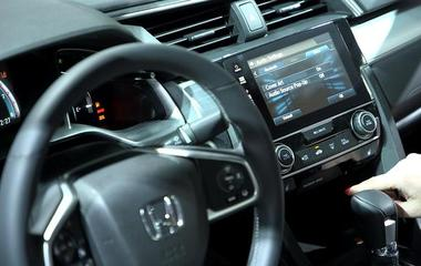 Automakers boast high-tech designs at NY Auto show