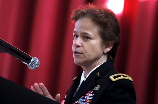 Breaking the brass ceiling: The U.S. military's top women