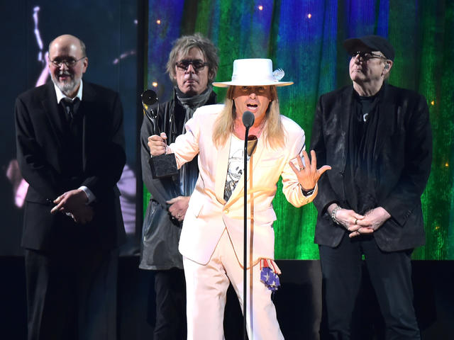 Cheap Trick - Rock and Roll Hall of Fame Induction 2016