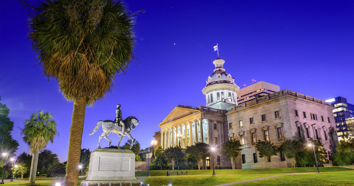 South Carolina state House Republicans introduce bill on secession over gun rights - CBS News