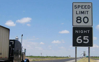 Traffic deaths rising with speed limits