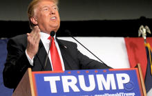 Trump continues to tee off on Republican nomination rules