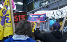 Fight for $15 protesters demand raising minimum wage across U.S.
