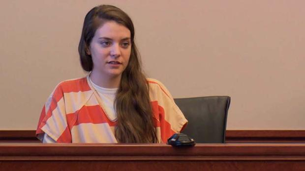 Shayna Hubers takes the stand