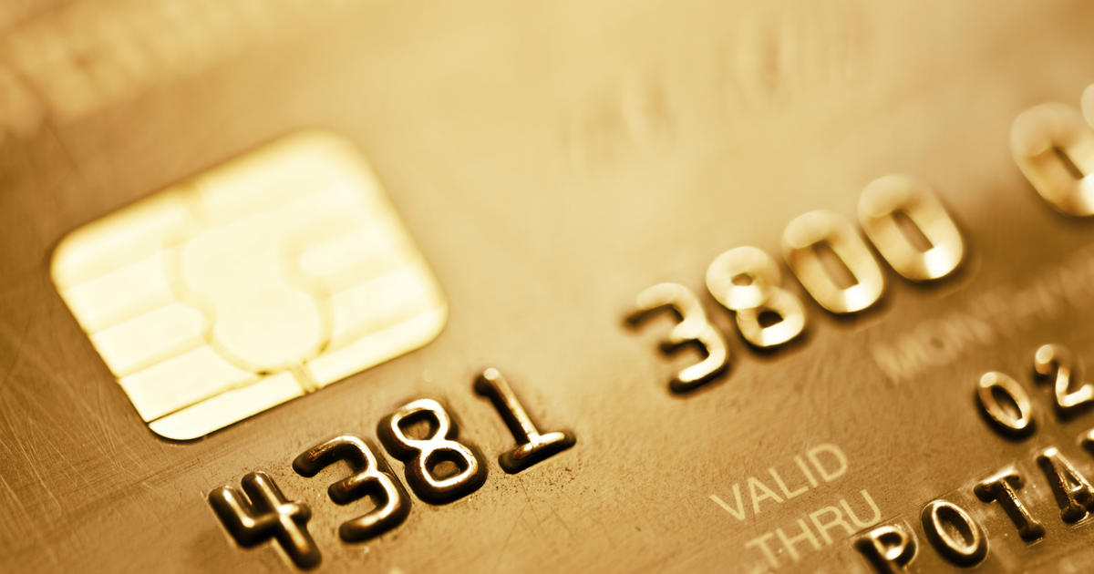 beware of scams targeting the new chip cards cbs news - Prepaid Debit Cards With Emv Chip