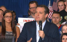 Ted Cruz pinning his hopes on Indiana