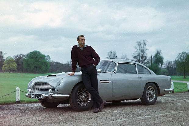 50 years of Bond style