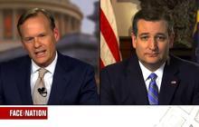 """Ted Cruz: Donald Trump """"cannot win a majority"""""""