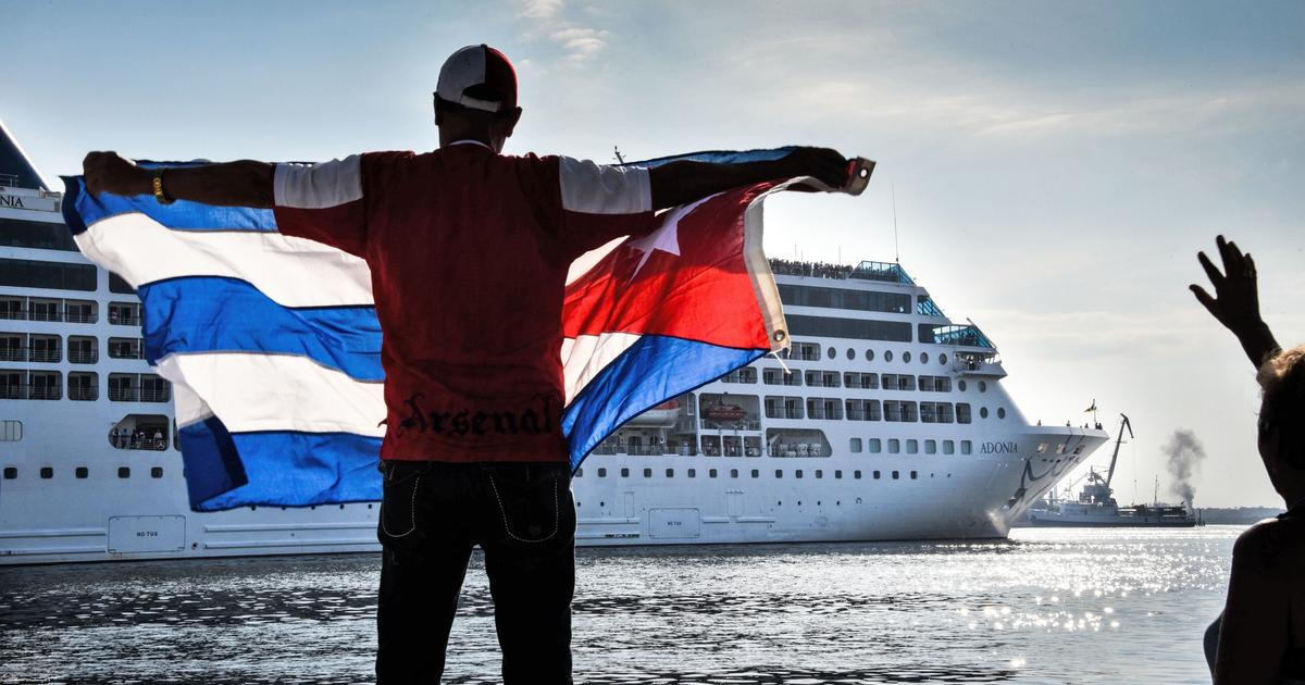 US Cruise Ship Carnival Adonia Docks In Havana Cuba For St Time - Us registered cruise ships