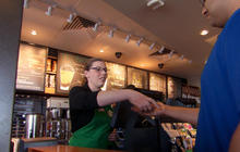 Barista learns sign language for customer