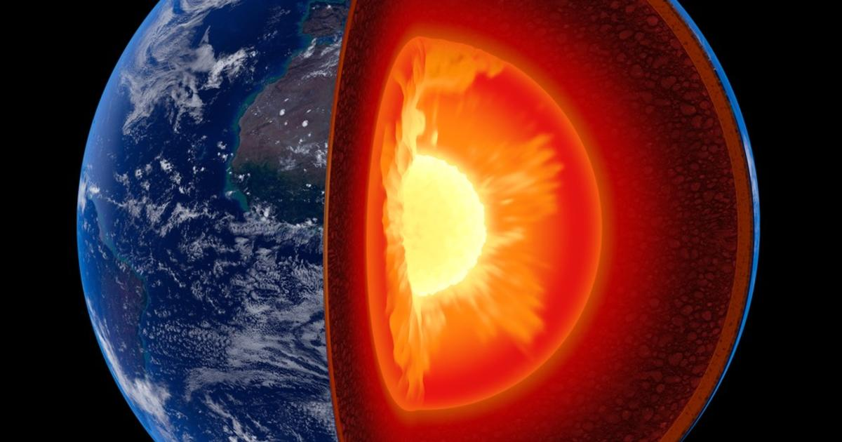 "Study: Chunks of Earth's mantle are ""peeling off,"" causing earthquakes"