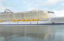 Billion dollar cruise ship sets sail
