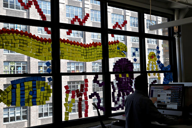 The Great Office Post-it Battle