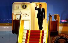 President Obama begins his visit to Vietnam
