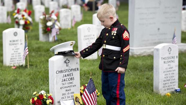 America honors the fallen