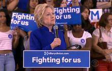 Hillary Clinton calls Donald Trump a fraud
