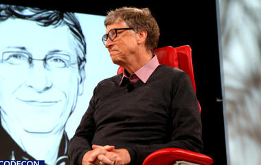 "Bill Gates calls artificial intelligence ""the holy grail"""