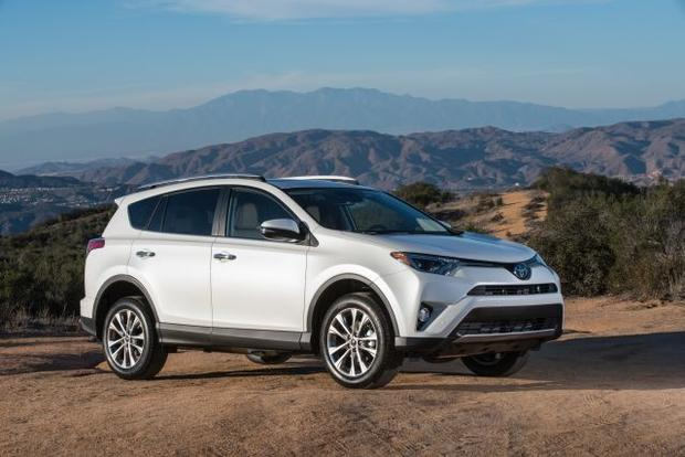 Toyota RAV4 Vs. Toyota Camry   5 Small SUVs That Might Tempt You Away From  A Sedan   CBS News