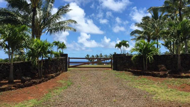 Some of Facebook CEO Mark Zuckerberg's neighbors are grumbling about a rock wall he's having built on his property on the north shore of the Hawaiian island of Kauai.