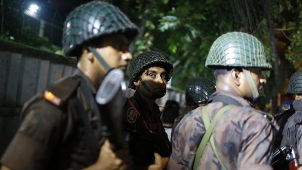 Gunmen take hostages in Bangladesh