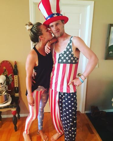 Stars celebrate the 4th of July