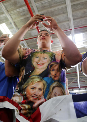 Extreme Hillary Clinton fans