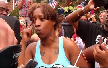 Girlfriend reacts to Philando Castile's killing by Minn. police