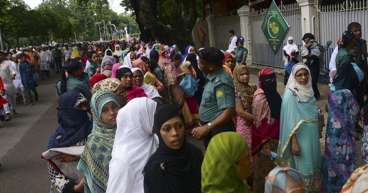 X One Hairstyle Dhaka: Bangladesh Eid Prayer Near Dhaka Hit By Islamic Extremist