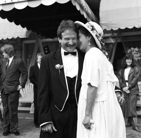 Robin Williams, in private and public