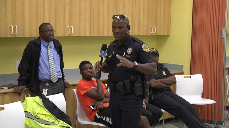 Miami Officer Malcolm Moyse