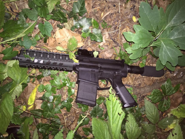 AR-15-assault-style weapon Baltimore police say man was using in shootout with them that left him dead on night of July 14, 2016