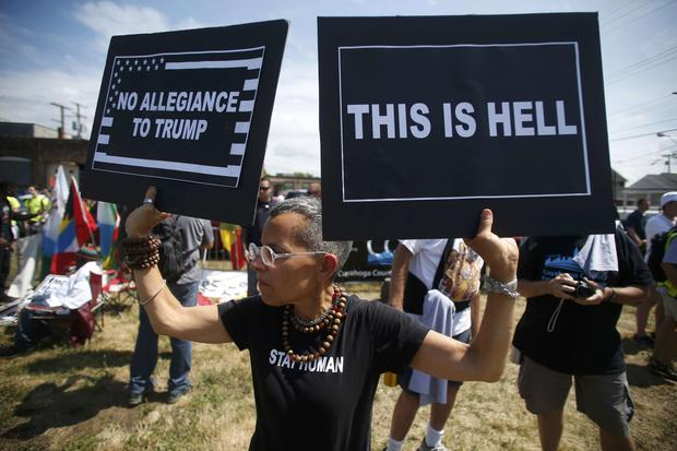 Protests at the RNC
