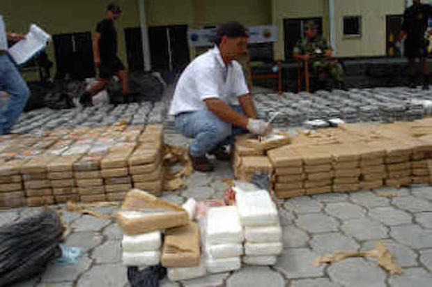 21 tons of cocaine - 1989 - 17 massive drug busts - Pictures