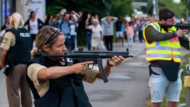 Munich shopping center shooting