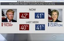 Trump sees small uptick in polling after RNC