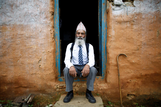 Nepal's 68-year-old student