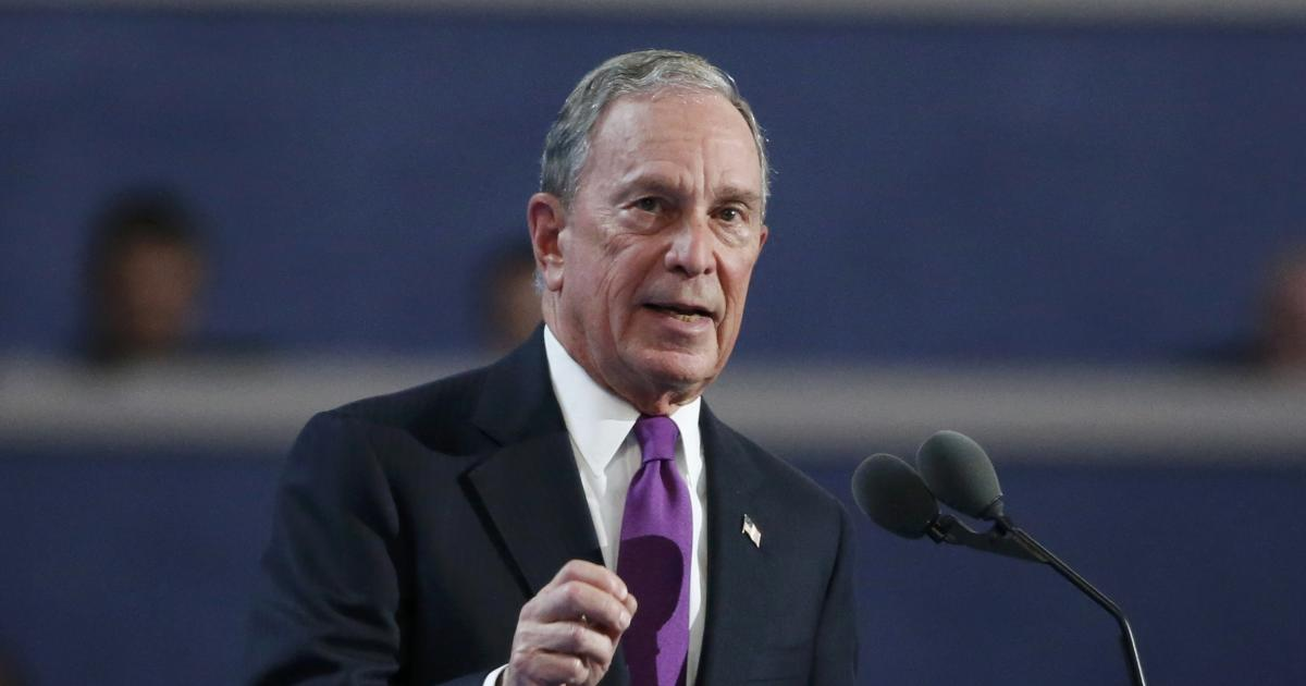 Michael Bloomberg re-registers as Democrat ahead of 2018 midterm elections