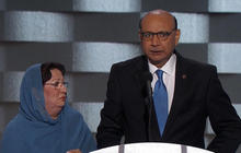 Father of slain American Muslim soldier slams Trump