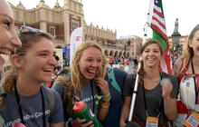 Pope Francis draws huge crowds for World Youth Day