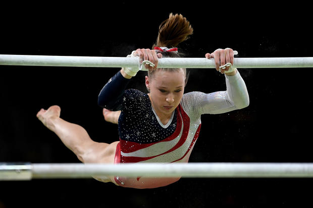 U S Women S Gymnastics Team Inspires With Its Talent And