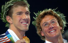 Phelps vs. Lochte, through the years