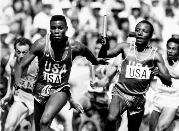Carl Lewis - Today in history - August 11 - Pictures - CBS News