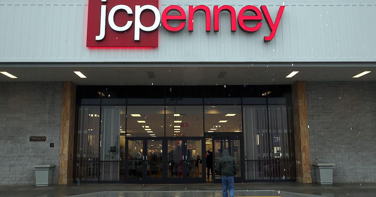 8e8c76d0b1481 JC Penney stock price falls below  1 a share to 97 pennies Thursday - CBS  News