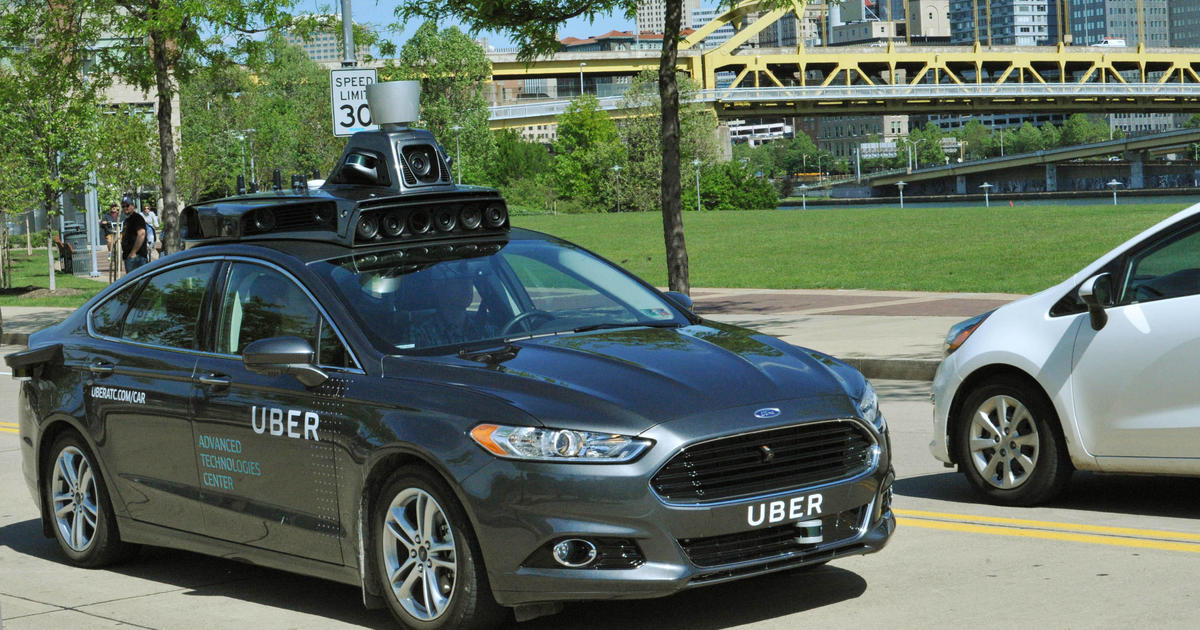 Pedestrian killed by self-driving Uber car in Arizona, police say