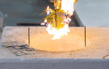 WATCH: Pine needles ignite without a flame