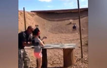 Family sues Arizona gun range after 9-year-old kills their dad