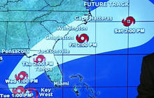 Tropical depressions take aim at U.S.