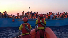 Thousands more migrants rescued from the Mediterranean