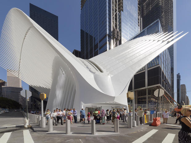 7648290b7fe4 Oculus - Oculus  The new World Trade Center Transportation Hub - Pictures -  CBS News